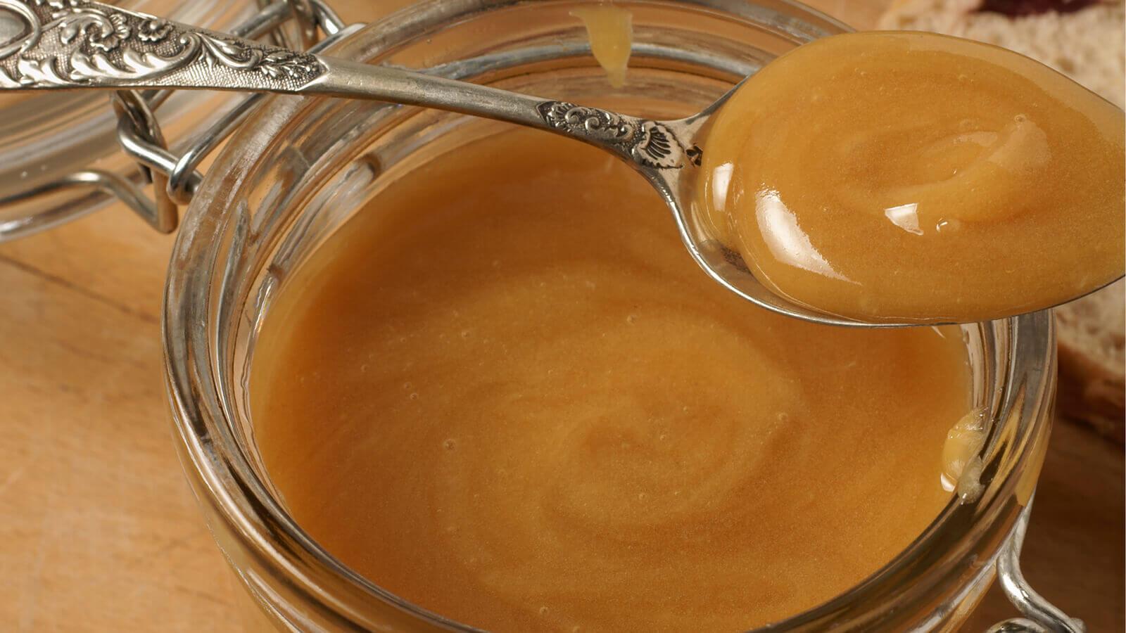 Manuka-Honig-Glas
