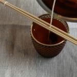 Teelicht Glas befüllen