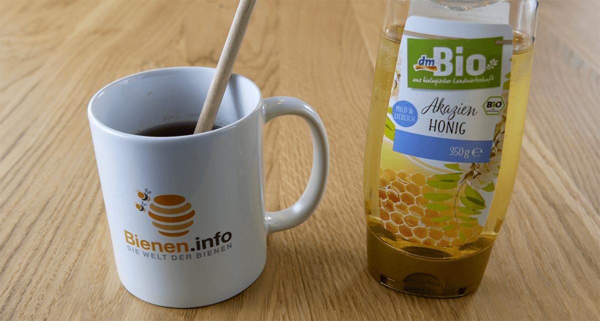 Akazienhonig als Süßungsmittel