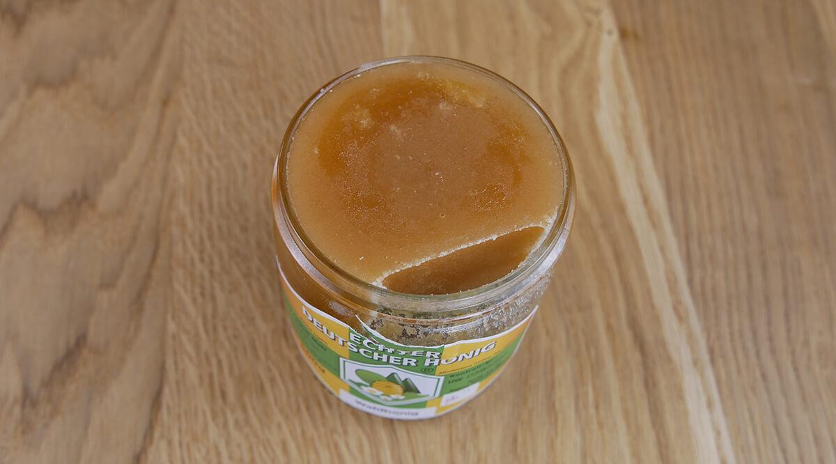 Ein kristallisierter Honig