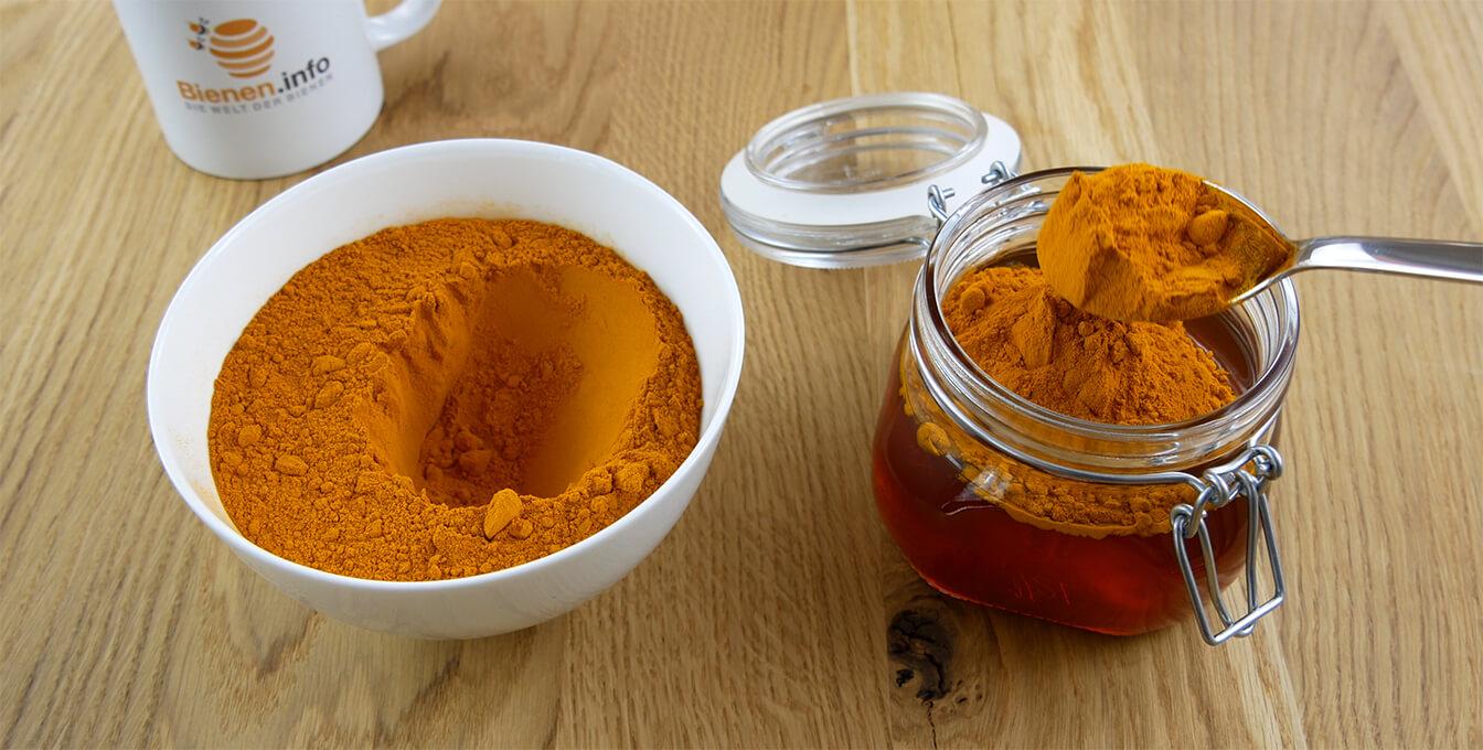Kurkuma-Honig selber machen