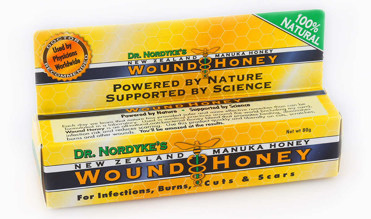Manuka-Honig Wundbehandlung