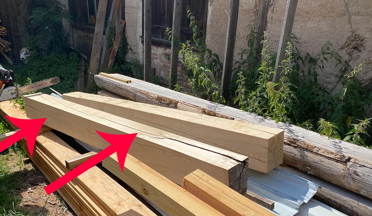 Sägewerk Wildbienenhotel Holz
